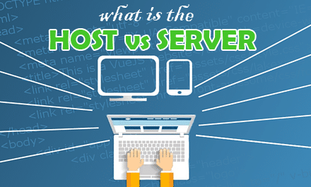 The Difference Between a Host and a Server?